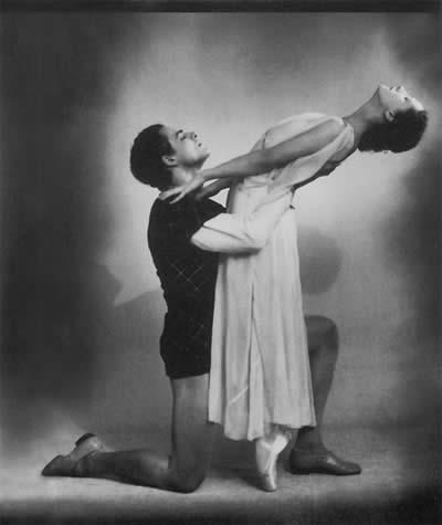 Джульетта в балете «Ромео и Джульетта» на музыку С.Прокофьева. Ромео — С.Кузнецов