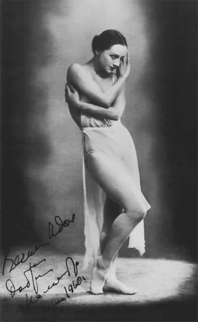 «Она» в балете «Вечный идол» на музыку К.Дебюсси