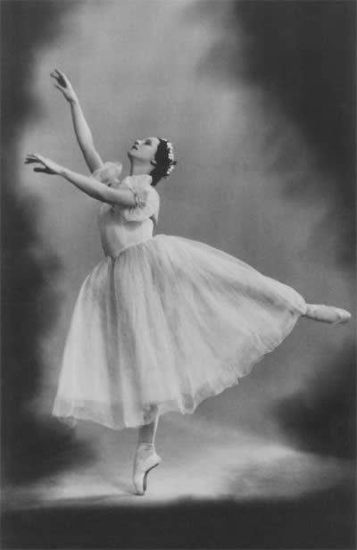 Жизель в балете «Жизель» на музыку А.Адана