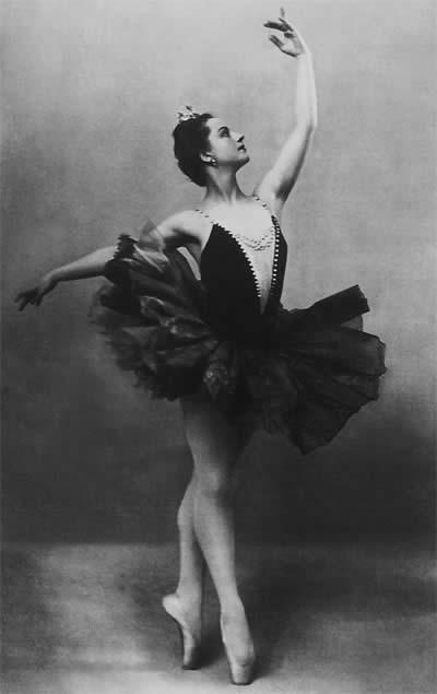 Одиллия в балете «Лебединое озеро» на музыку П.Чайковского.