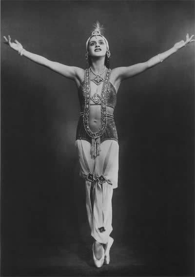 Зарема в балете «Бахчисарайский фонтан» на музыку Б.Асафьева.