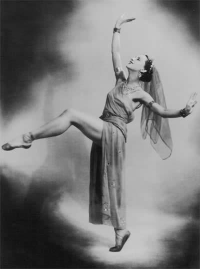 Эгина в балете «Спартак» на музыку А.Хачатуряна.