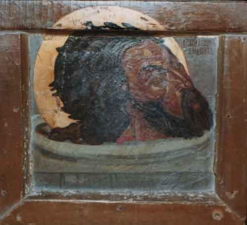 Глава Иоанна П�ед�е�и 1924 Пе�вая п�аж�кая икона ЮН